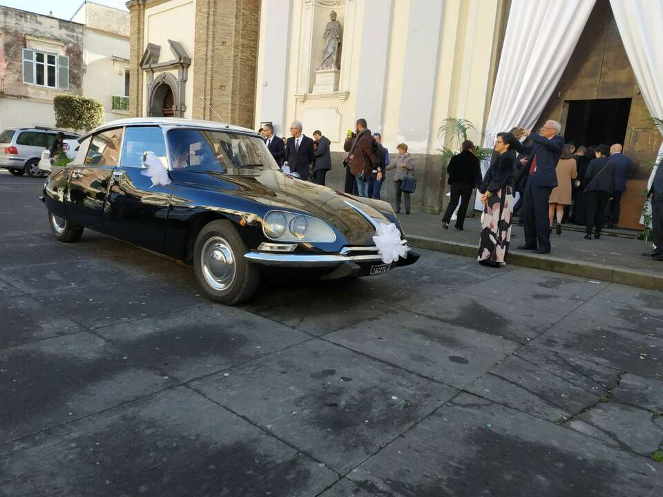 Matrimonio con Citroën DS Pallas
